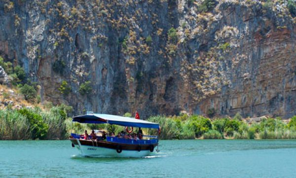 Boat trip in Dalyan