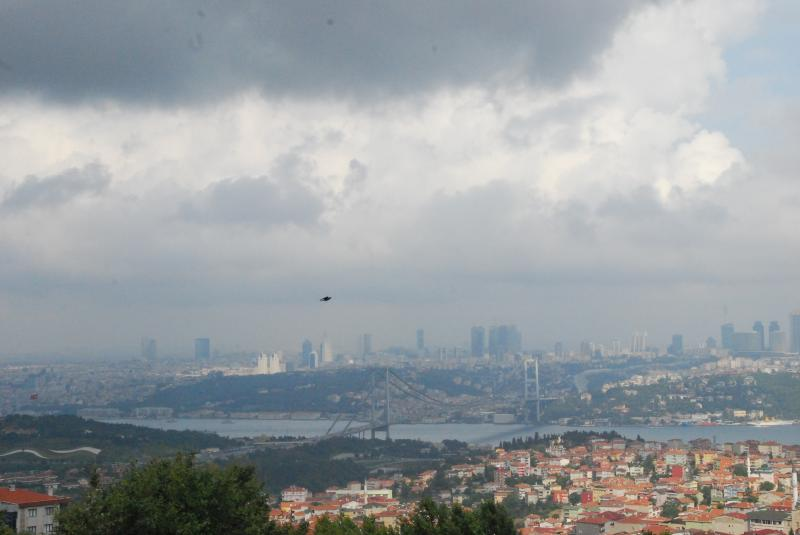 Bosphorus bridge from the Camlica hill