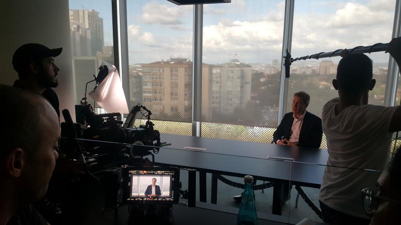 Troy card & discovercard corporate filming