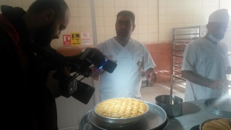 Reporting baklava production house - rtvs / Slovakia