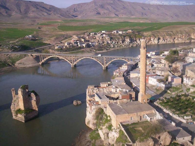 view from Hasankeyf