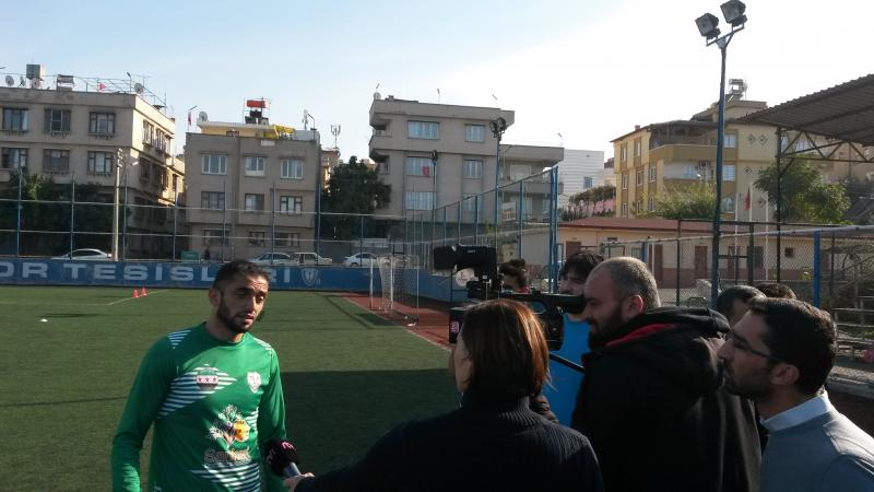 Interview with Syrian Football player