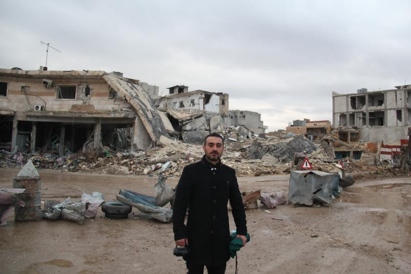 Reporting from inside Kobane