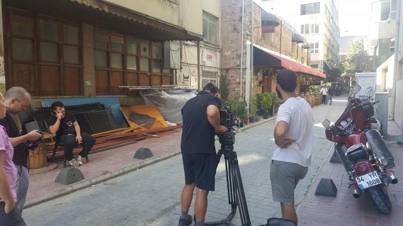 Karakoy filming - Golin media / USA